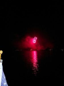 Fireworks in Frankfort